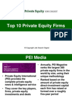 Top 10 Private Equity Firms