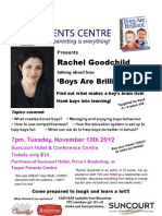 Rachel Goodchild Poster