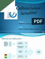 Cultura General y Actualidad ( Unidad 1 y 2 )