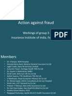 Action Against Fraud - Workshop Group 3 Presentation