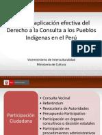Hacia la aplicación efectiva del Derecho a la Consulta en el Peru - Arequipa