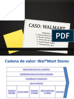 Cadena de Valor Caso Wal Mart