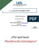Clase 7- Planificacion Estrategica- ALUMNOS