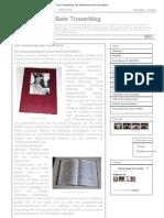 Bernd Seiffert- Sein Trauerblog- Die Verbrechen Der Psychiatrie - Von 2010