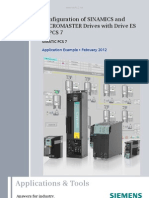 Configuration of SINAMICS and MICROMASTER Drives With Drive ES in PCS7