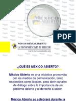 Presentacion Mexico Abierto
