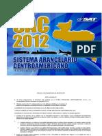 Sistema Arancelario Centroamericano 2012