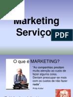 marketing E servIÇOS
