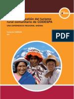 Modelo de gestión del turismo rural comunitario de CODESPA