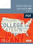 Student Debt and the Class of 2011