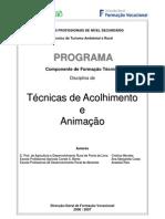 Programa Técnicas de Acolhimento e Animação