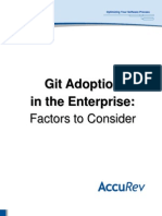 AccuRev Git Adoption in the Enterprise