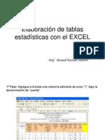 _Elaboración tablas en excel