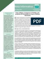 bn3-sp Evitar, Mitigar y Compensar la Pérdida y Degradación