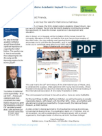 UNAI_Newsletter_issue 5 September 2011