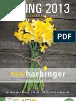 New Harbinger Spring 2013 TradeCatalog