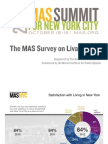 New York City Livability Survey 2012