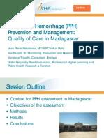 Postpartum Hemorrhage (PPH) Prevention and Management