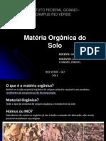Materia Organica Do Solo