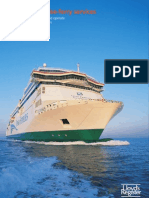 Ropax and Cruise-ferry Services