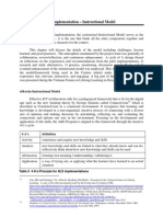 Report on the eSkwela Instructional Model Component