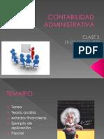 Clase 3 Contabilidad Administrativa