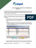 Anexo Procesos Para Manejar El Costo de Lo Vendido en Aspel-SAE