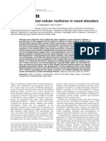 Neuroplasticity and cellular resilience in mood disorders