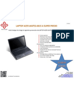 Laptop Acer As4752-6813
