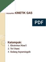Ppt Teori Kinetik Gas