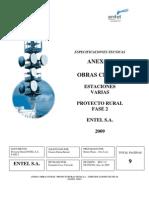Anexo 1 Especificaciones Obras Civiles Enero 2009