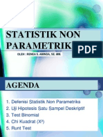 STATISTIK II Pertemuan Pertama
