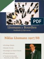 Luhmann y Bourdieu