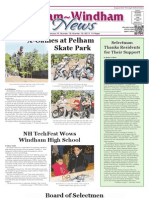 Pelham~Windham News 10-19-2012