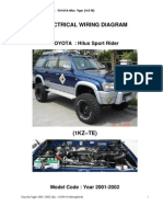 Toyota Tiger 1KZ 2001
