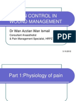 Pain Control in Wound Management 2012