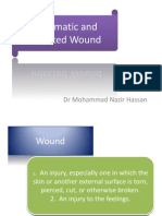 Traumatic and Infected Wound Mx