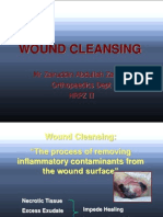 Wound Cleansing