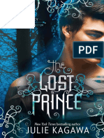 The Lost Prince by Julie Kagawa - chapter sampler