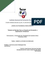 Estudio de Mercado de International Training and Consulting