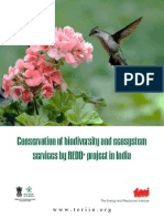 Conservation of biodiversity and ecosystem services by REDD+ project in India - Abhishek Kadyan