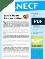 Berita NECF - July-September 2012