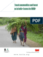 Livelihood of local communities and forest degradation in India
