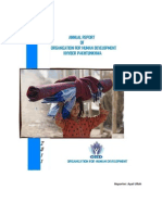Organization for Human Development-OHD Annual Report