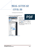 1 Tutorial Autocad Civil 3d Point Data