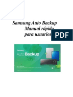 SPA_Samsung Auto Backup Quick Manual Ver 2.0