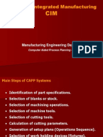 Computer Aided Process Planning-II