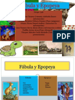 Expo. Fabula y Epopeya