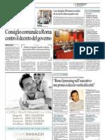 Rassegna Stampa 18.10.2012
