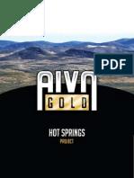 hot springs mine resume